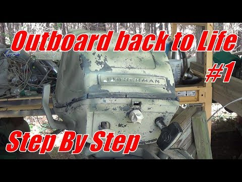 Evinrude Fisherman {step By Step}