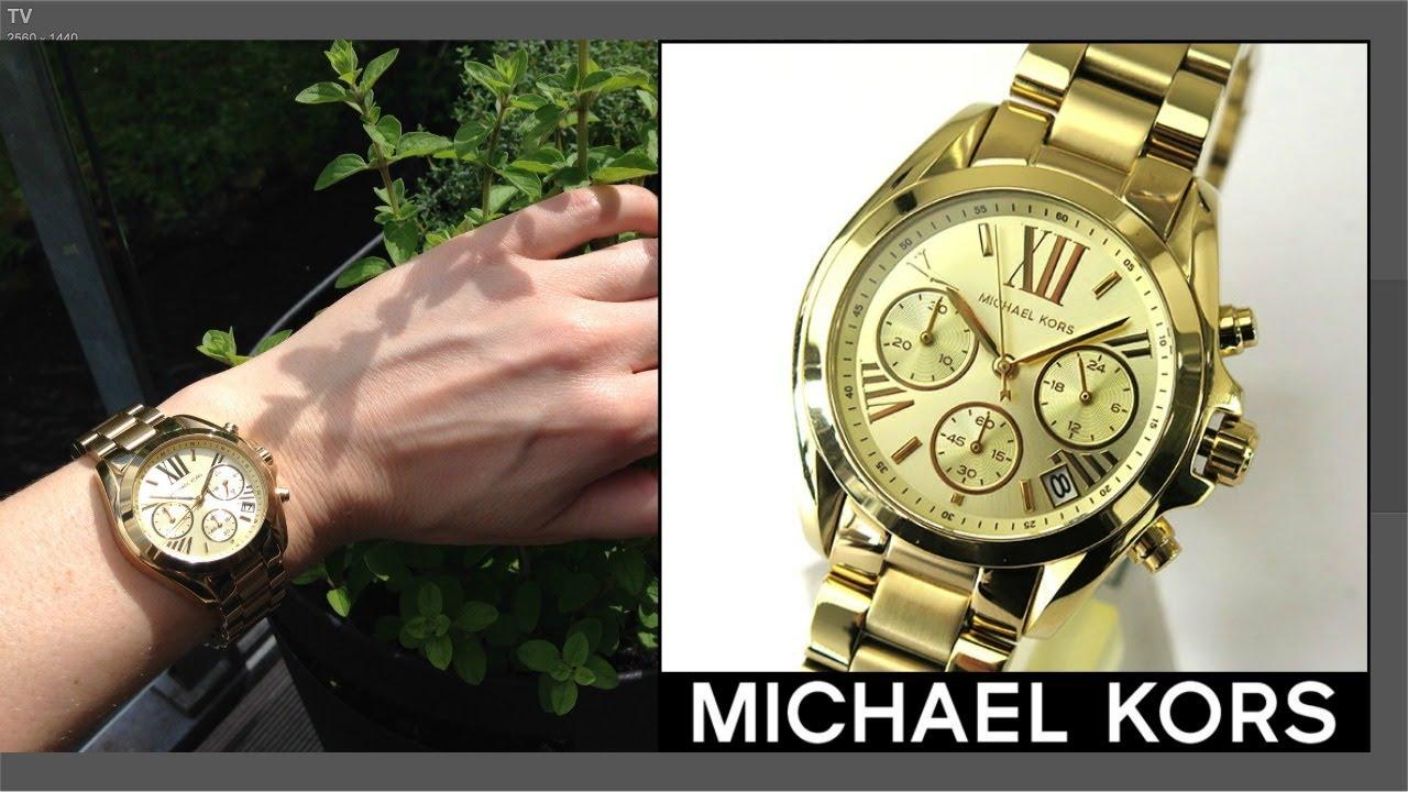 9b49d4a97ec1 WOMEN S MICHAEL KORS WATCH   UNBOXING.  REVIEW   MK 5798 by SITAL CHANNEL