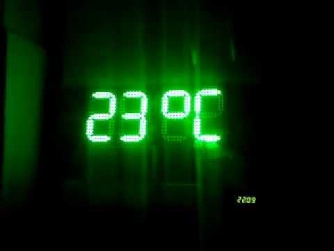 Часы-термометр-календарь