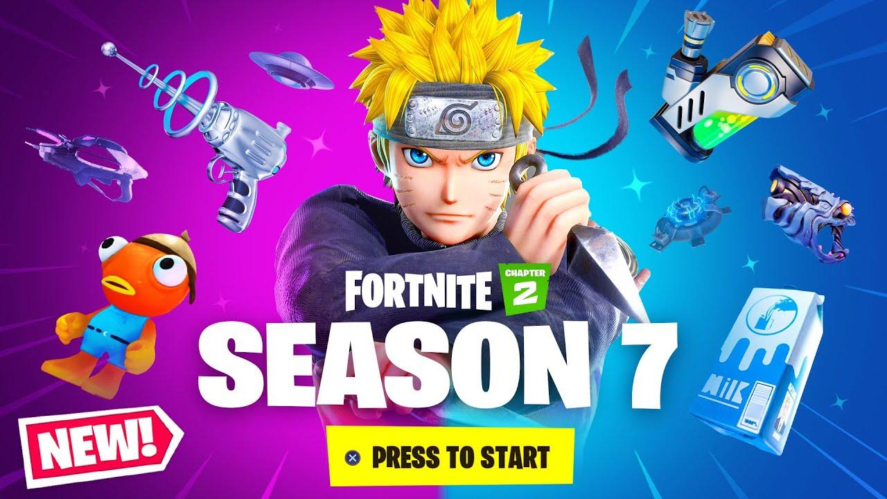When Will The New Season Of Fortnite New Season 7 Skins Guns More Fortnite Chapter 2 Season 7 Youtube