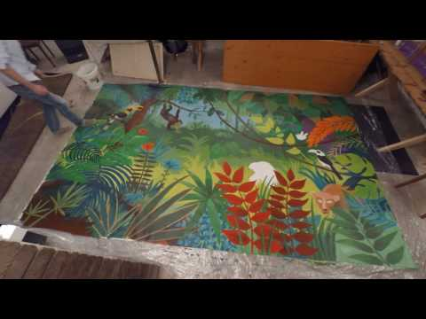 Time Lapse Jungle Painting