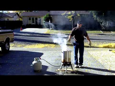 How to deep fry a turkey and not die
