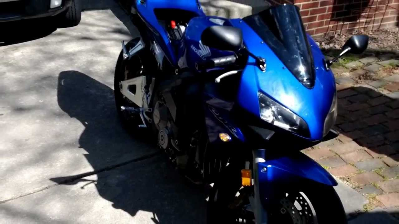 2004 cbr 600 rr with m2 v a l e carbon fiber two brothers black edition exhaust