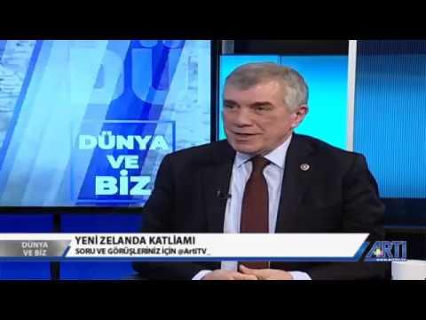 CHP GENEL BAŞKAN YARDIMCISI ÜNAL ÇEVİKÖZ ARTI TV'DE DIŞ POLİTİKA GÜNDEMİNİ DEĞER