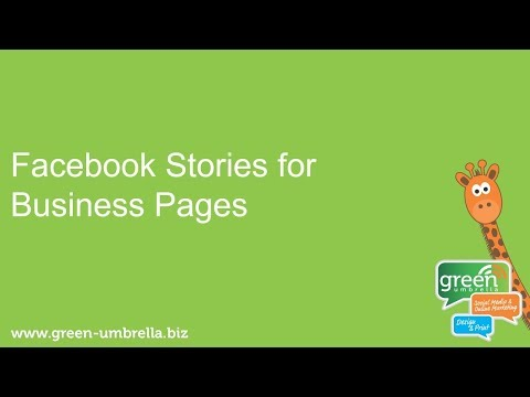 Facebook Stories for Business Pages, Best Practice