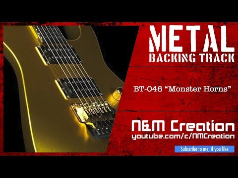 METAL Backing Track in C Minor (Drop C, Fast, Horn Section)