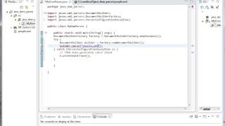 Java Online Training | Parsing XML using Java DOM Parser