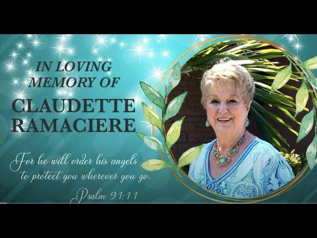 In Loving Memory of Claudette Ramaciere