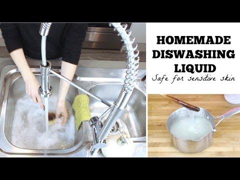 DIY DISHWASHING LIQUID | Natural and chemical free