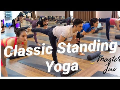 Standing Yoga Sequence with Master Ajay