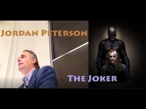 Jordan Peterson: Heath Ledgers Joker, Batman & archetypes
