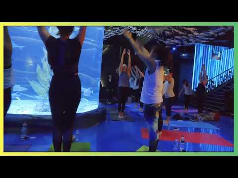 Yoga By The Aquarium Event (Jakarta)