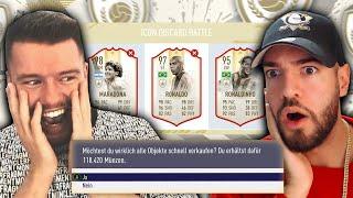 FIFA 19: ICON DISCARD DRAFT BATTLE vs WAKEZ 😭😭