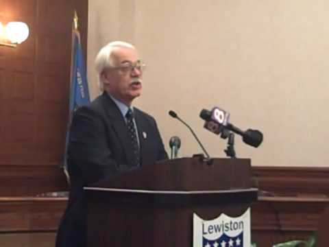 New City Administrator meets the press