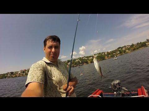 """Лодка """"Крым""""+ Вихрь 25 подключение руля,командера-газ реверс .Пузанок рыбалка"""