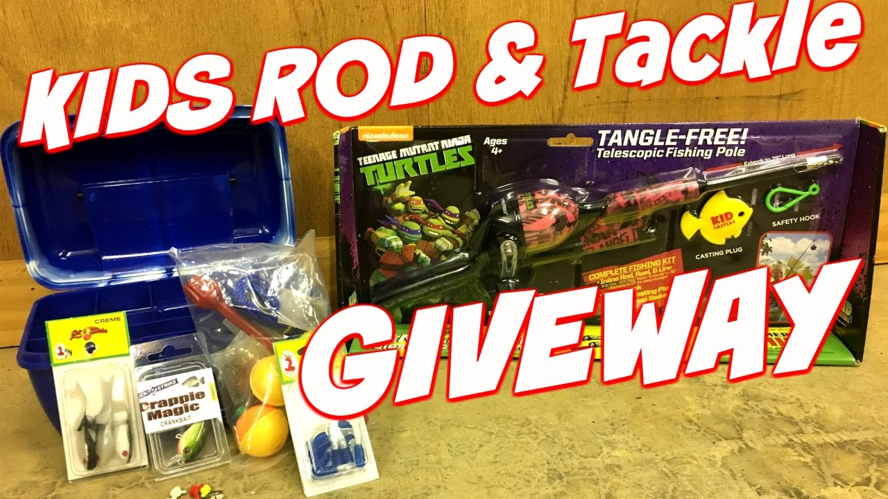 Free fishing tackle giveaway