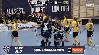 Maalikooste: Pirkat Naiset vs. SB Welhot 6-3 (9.11.2019)