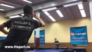 Савельев-Егоров перекрут настольный теннис