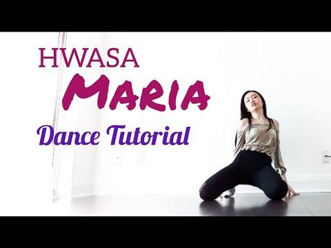 HWASA - Maria Dance Tutorial (Explanation \u0026 Mirrored)
