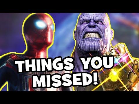 AVENGERS INFINITY WAR Trailer Easter Eggs, Infinity Stones & Things You Missed (FULL ANALYSIS)