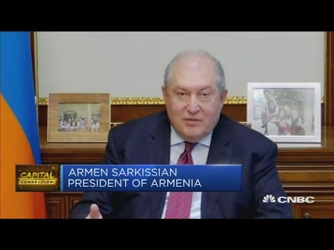 'Imagine Caucasus Becoming Another Syria?': Armenia's President Pleas For International Support