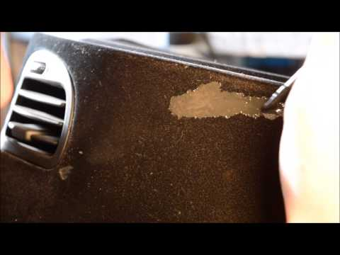 HOW TO REPAIR A FLOCKED DASHBOARD