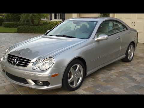 2004 Mercedes Benz CLK500 AMG Sport Coupe Review and Test Drive by Bill - Auto Europa Naples