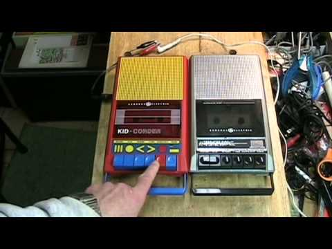 Are You Kidding Me? - Comparing Two Vintage GE Cassette Tape Recorders