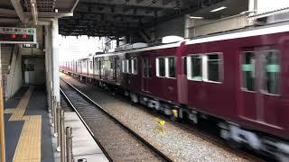 阪急電車7324f正雀通過