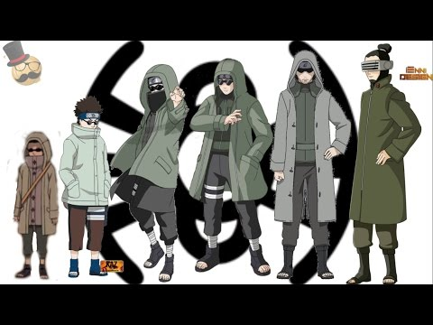 Naruto characters: Aburame Shino's Evolution