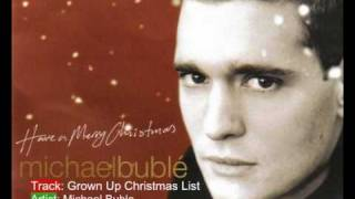 Michael Bublé - Grown Up Christmas List. thumbnail