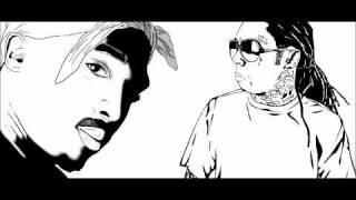 Lil Wayne & Tupac - Hail Mary (justincrediblemix) ft. Tha Outlawz