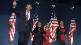 President-Elect Barack Obama on Election Night thumbnail
