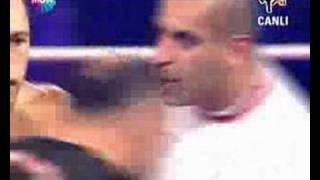 a1 kickbox jerame burnett gurkan ozkan too fast knock out