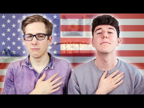 BRITISH GUY DOES AMERICAN CITIZENSHIP TEST (with Evan Edinger)