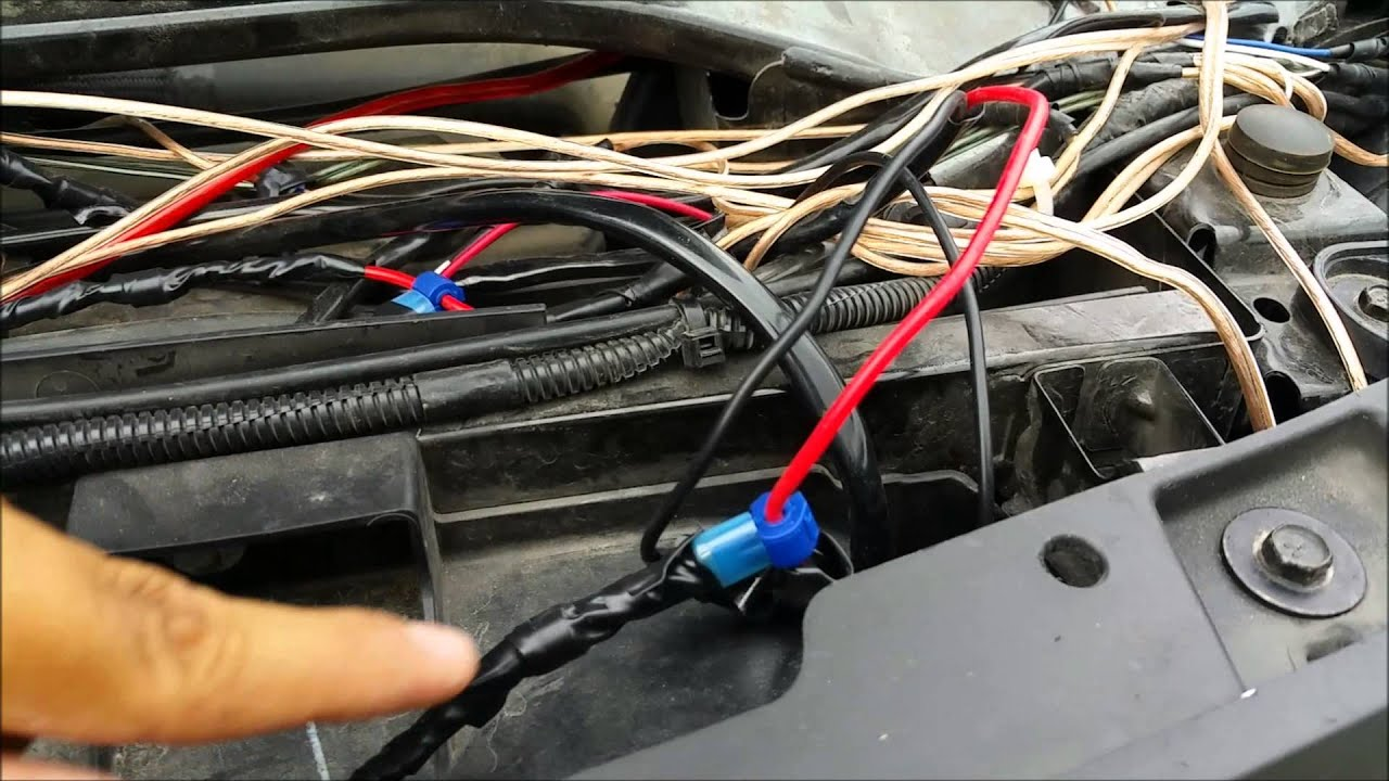 how to wire flashing lights [ 1280 x 720 Pixel ]
