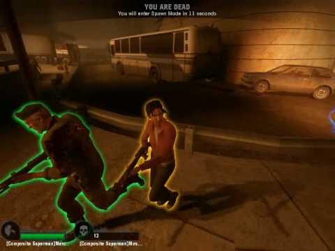 Left 4 Dead: Composite Superman VS KillerMachines 15.03.2010 (Part 3/7)