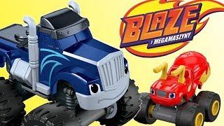 Blaze i Mega Maszyny • Wypadek Crushera • bajka po polsku