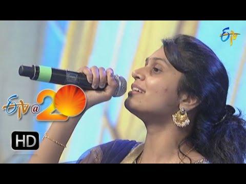 Sri krishna,Mohana Performance - Manohar Song in Khammam ETV @ 20 Celebrations