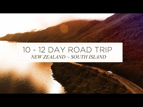 12 Day Road Trip around the South Island, New Zealand Itinerary - Self-guided