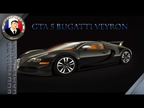 GTA 5 Bugatti Veyron Carbone - Test Et Personnalisation De La Bete !!