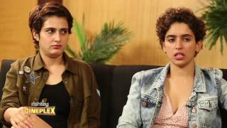 Rapid fire with Dangal girls Fatima and Sanya, by Atika Ahmad Farooqui