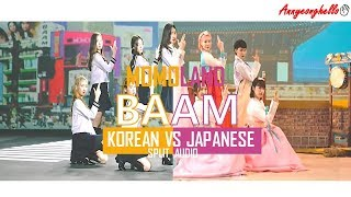 Momoland BAAM Korean VS Japanese Comparison Split Audio.mp3