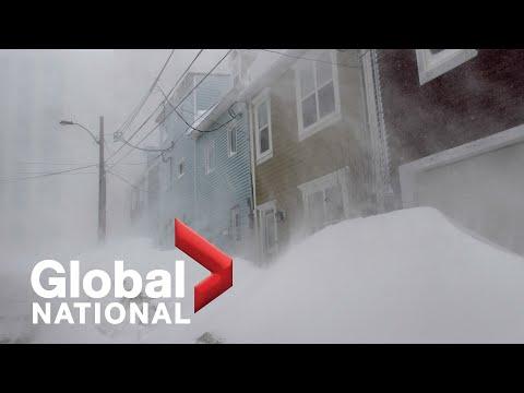 Global National: Jan. 17, 2020 | Winter Storms Hits Newfoundland; Flight 752 Families Compensation