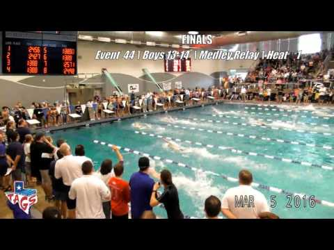 SCTAGS 2016 Day 3 Finals -- hosted by Mid-Cities Arlington Swimming