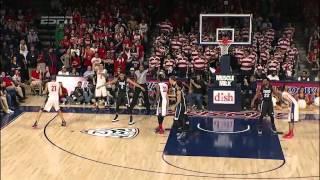 Gonzaga Bulldogs vs Arizona Wildcats