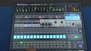 PreSonus StudioLive CS18AI Walk-Through