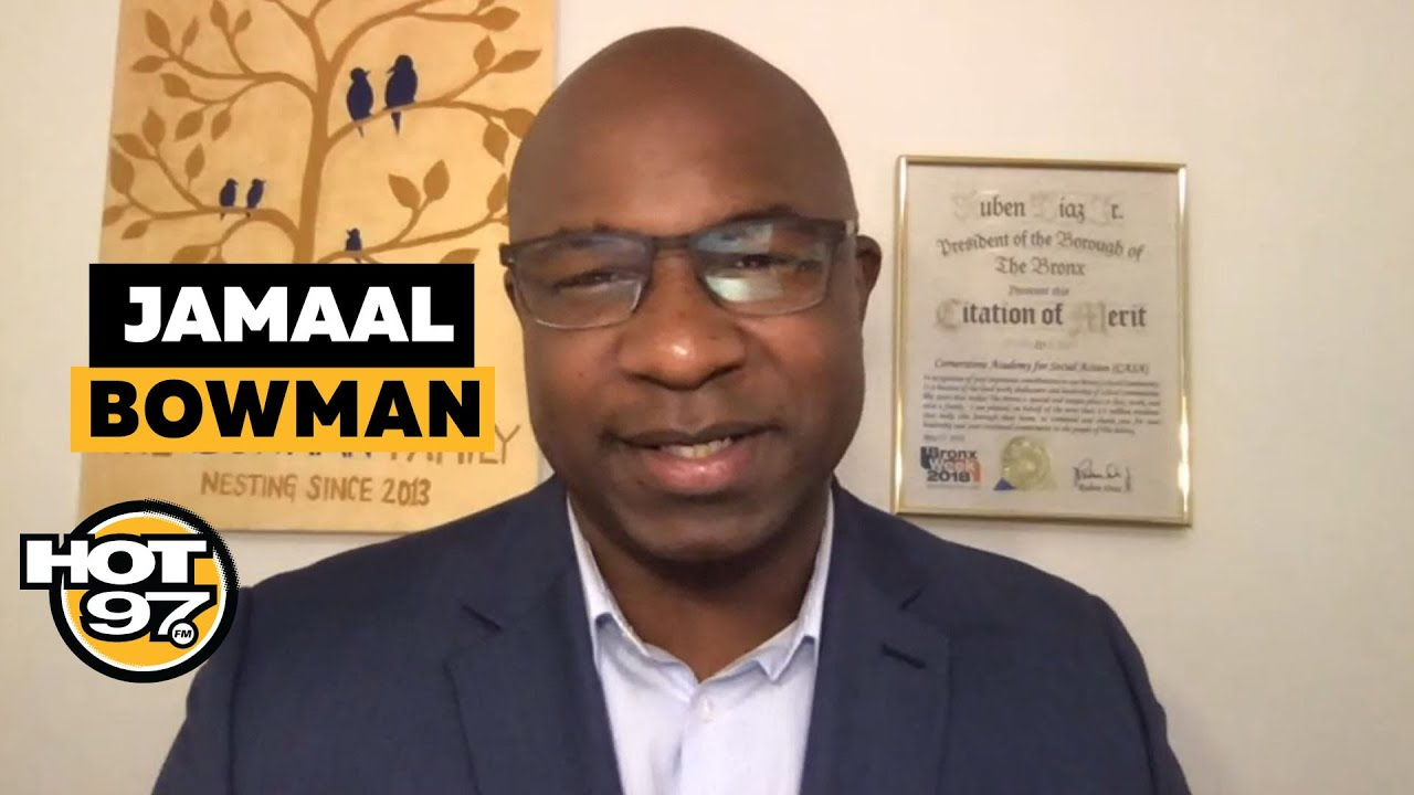 Jamaal Bowman On Early Voting, Trickle Down Economics, Defund the Police + Packing The Court