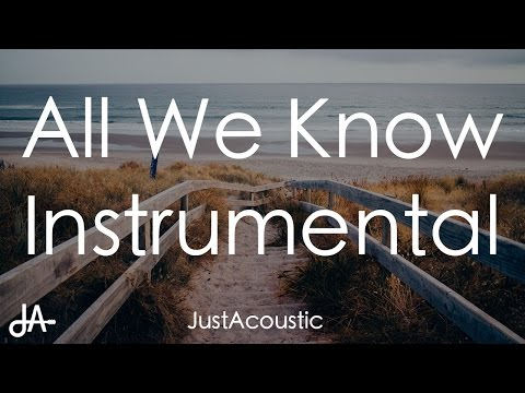 All We Know - The Chainsmokers ft. Phoebe Ryan (Acoustic Instrumental)