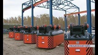 В Красноярском крае впервые за 10 лет появится завод тяжелого машиностроения (Новости 13.10.16)
